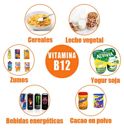 cereales con vitamina b12