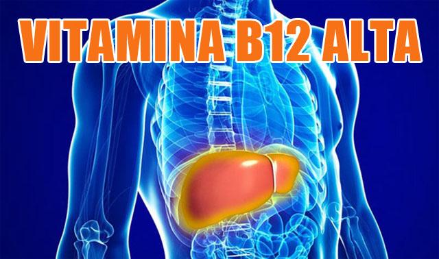 como bajar niveles de vitamina b12