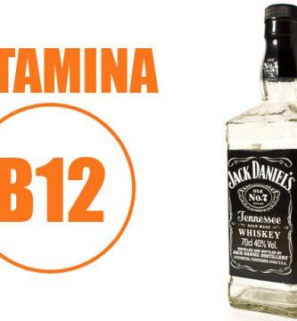 vitamina b12 alcohol